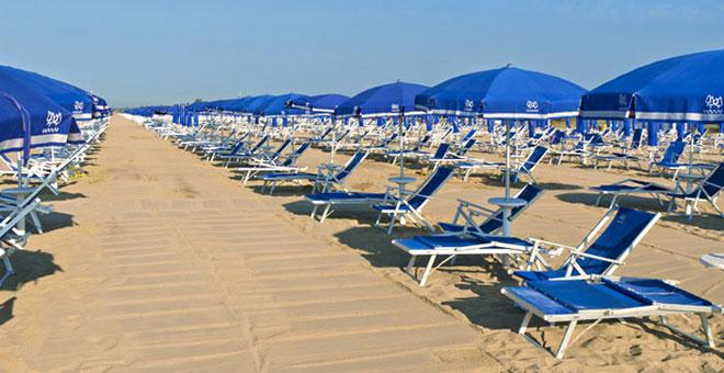 Vrij of betaald strand in Puglia