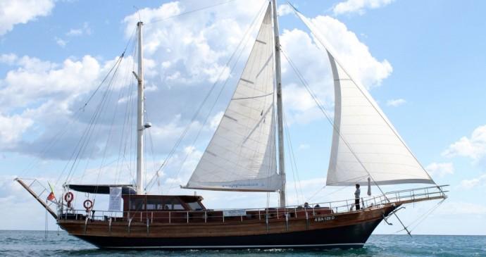 Een excursie met een Caicco op de Adriatische Zee vanuit Monopoli