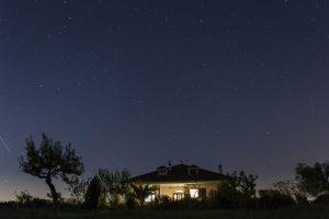 B&B Villa Lavanda Puglia bij nacht