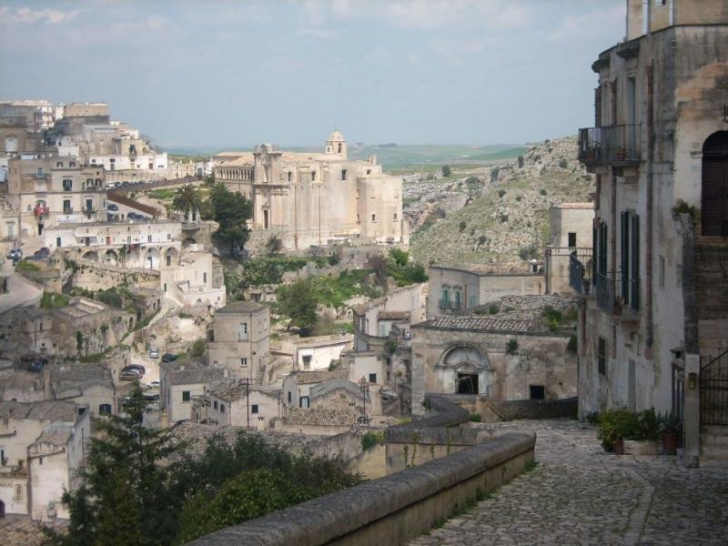 Matera een juweel van een stad