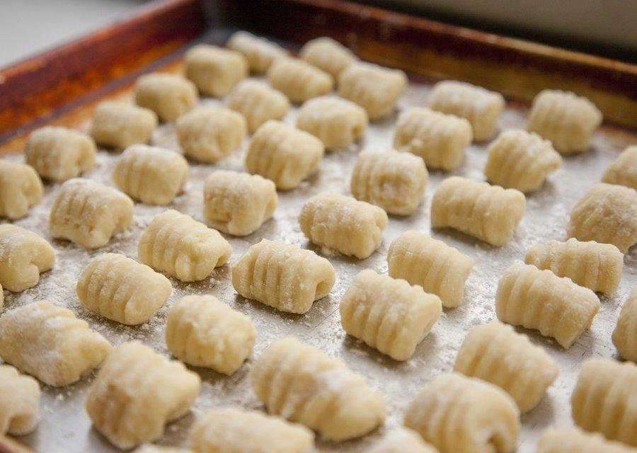 gnocchi maken tijdens vakantie puglia