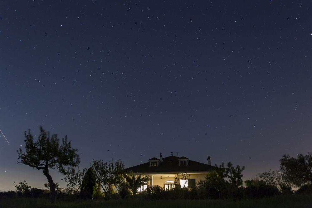 Villa Lavanda by night