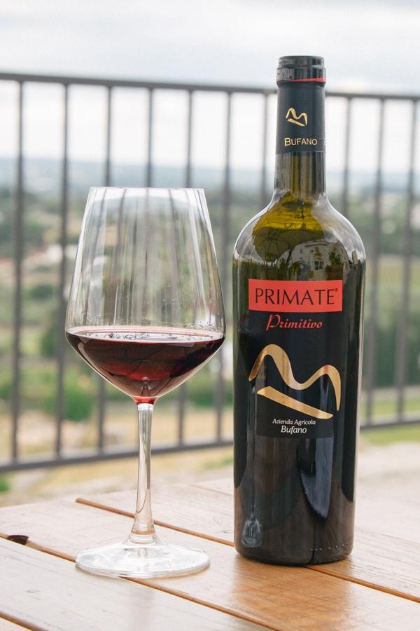 Bufano Sirose wijn proeverij locorotondo
