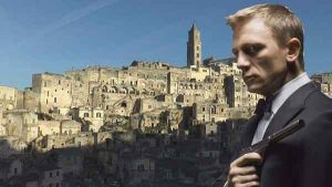 James Bond in Matera