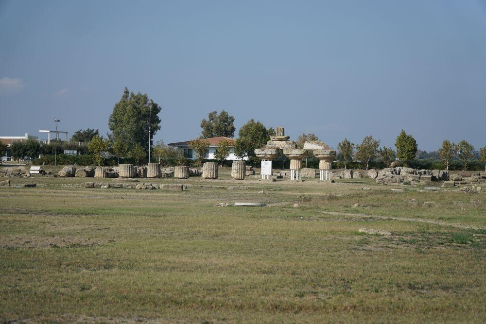 archeologische opgravingen in metaponto