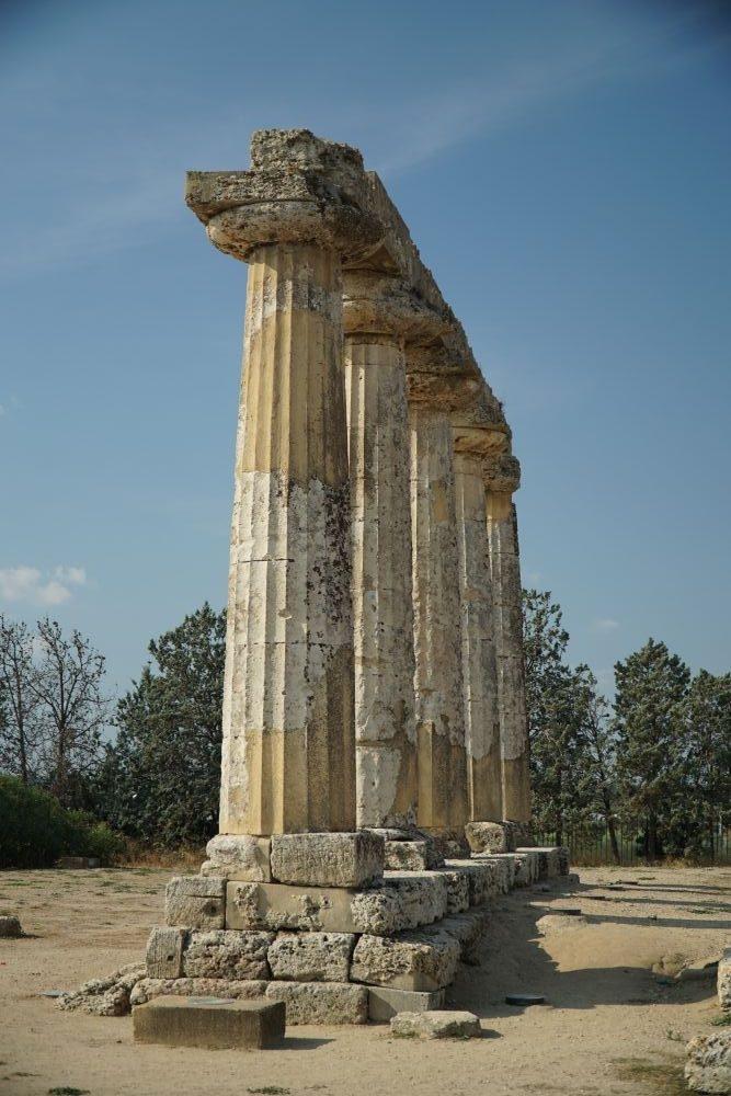 de tempel voor hera