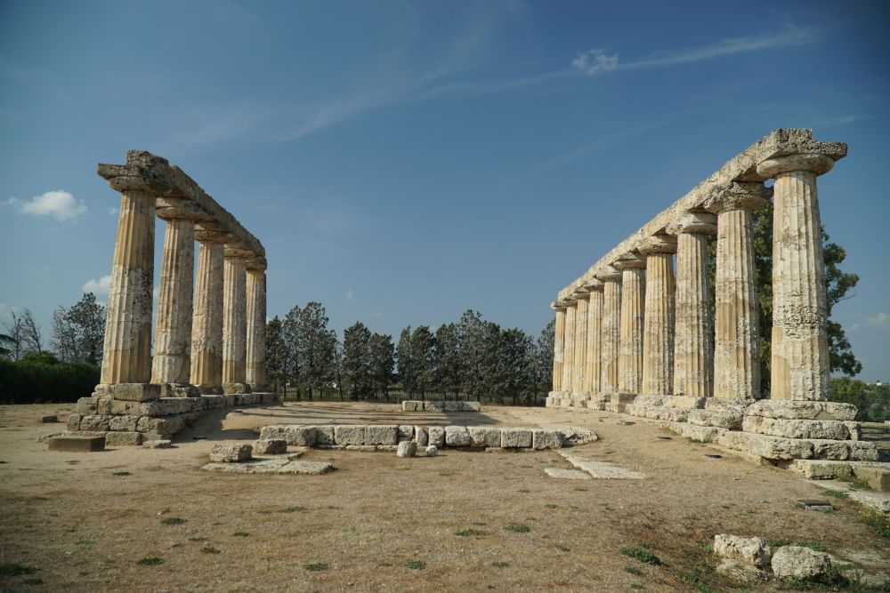 metaponto tempel hera