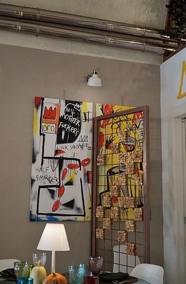 Heel apart, lekker, klein, dus reserveren Basquiat Matera