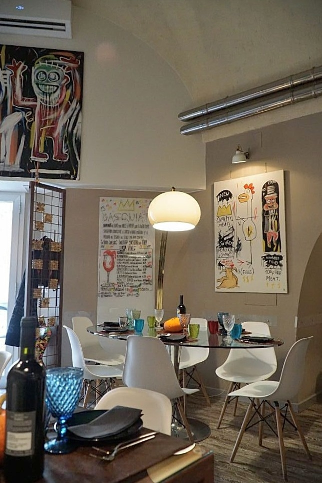 Ristorante Basquiat Matera aanbevolen door B&B Villa Lavanda