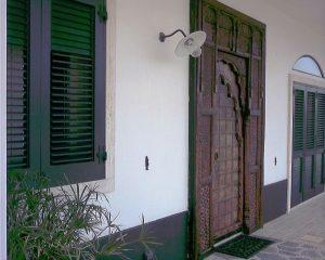 De gasteningang bij B&B Villa Lavanda in Puglia