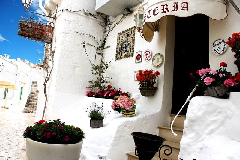 Osteria del Tempo Perso Ostuni aanbevolen door B&B Villa Lavanda