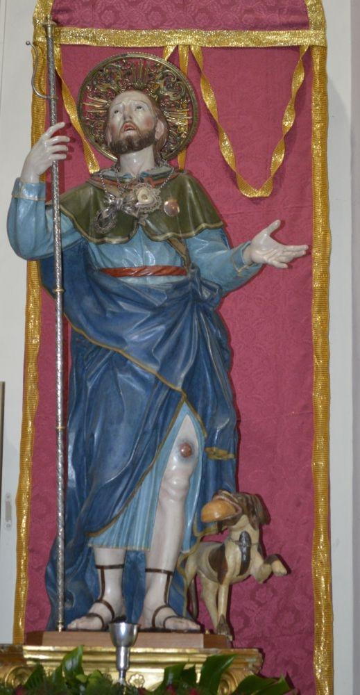 S. Rocco de dorpsheilige van Noci-logeren bij Nederlanders