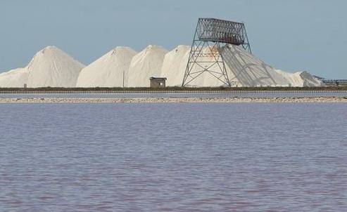 De zoutpannen bij Martherita di Savoia logeren bij Nederlanders in B&B Villa Lavanda in Puglia