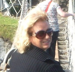 Jenny, eigenaresse B&B Villa Lavanda, Noci, Italie