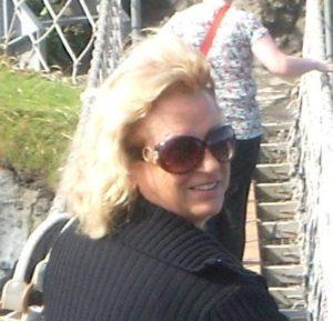 Jenny, owner of B&B Villa Lavanda, Noci, Italie